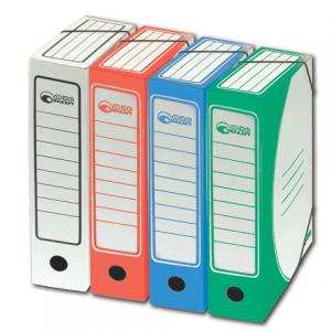 Накопитель документов, Папка с резинкой, цветная (ассорти), 75 мм (на 700л), 3231