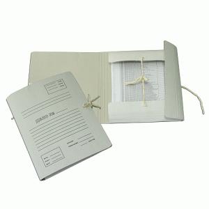 Накопитель документов, Архивная папка с завязками, 32*23*4 см, гарант.пл. 370 г/кв.м (на 350л.) 338