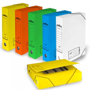 Накопитель документов, Папка с резинкой, цветная (ассорти), 75 мм (на 700л.), АС-7