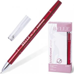 """Ручка гелевая ERICH KRAUSE """"BELLE gel"""" толщ. письма 0,5мм, 17742, красная"""