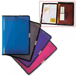 Папка на резинках BRAUBERG широкая, А4, ассорти, 0,60мм, 221368