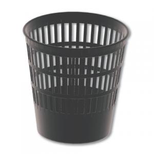 Корзина для бумаг BRAUBERG-MAXI большая сетчатая 16л черная, 231165 ПЛС