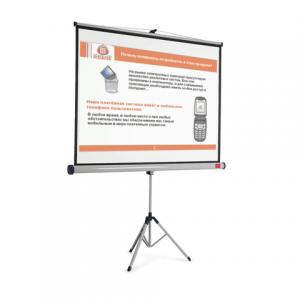 Экран проекционный NOBO матовый на треноге 200*151 см, 1900033, 1902397 (АССО Brands,США)