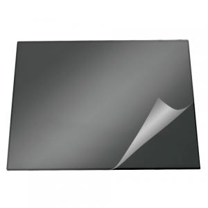 Коврик-подкладка настольный для письма DURABLE (Германия) c прозр. листом, 50х70см, черный, 7203-01