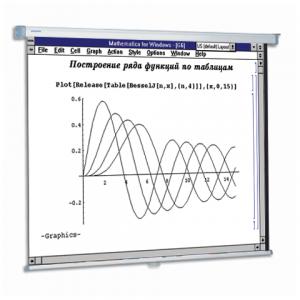 Экран проекционный PROJECTA (Нидерланды) SlimScreen, матовый настенный, 160*160см,1:1,10200062