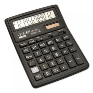 Калькулятор CITIZEN настольный SDC-382, 12 разр., двойное питание, 190х136мм, оригинальный
