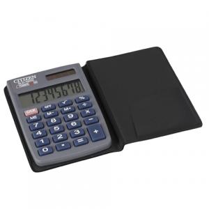 Калькулятор CITIZEN карманный SLD-100, 8 разр., двойное питание, 88х57мм, оригинальный