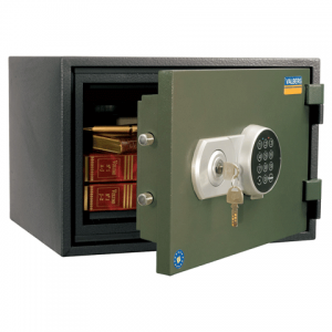 Сейф огнестойкий VALBERG FRS-30 EL (в300*ш430*г352*мм; 30кг ), эл. замок+ключ