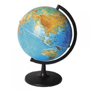 Глобус физический диаметр 210 мм