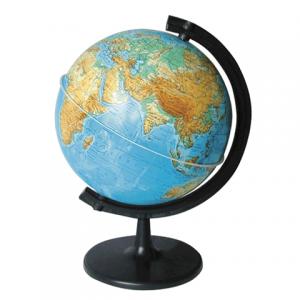Глобус физический диаметр 210 мм с подсветкой