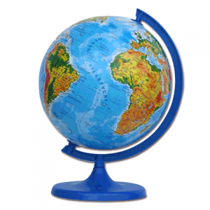 Глобус физический GLOWALA диаметр 220мм, ZM220F (шк 901826)