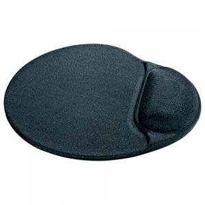 Коврик для мыши DEFENDER гелевый GL009/908 серый/черный, лайкра