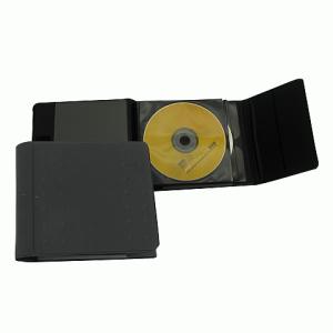 """Папка для CD/DVD DURABLE (Германия) на 32 диска """"MOBIL"""" ПВХ-обложка, на липучке, т-серая, 5205-58"""