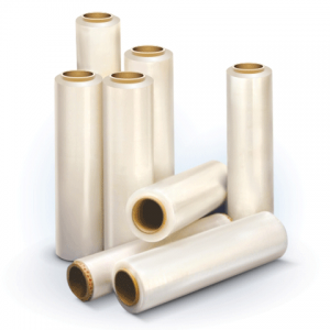 Стрейч-пленка для упаковки поддонов (палет) СТАНДАРТ шир.450мм, длина 185м, 1,3кг, 17мкм,растяж.180%