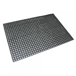 Коврик входной резиновый грязезащитный, 500×1000×22 мм, Индия