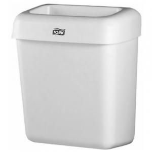 Контейнер для мусора TORK 20л, белый (в43*ш32*г 20,5см), без крышки, 226100