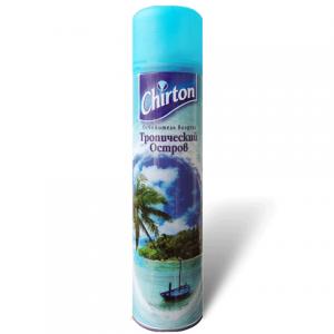 """Освежитель воздуха CHIRTON (Чиртон) 300мл, """"Тропический остров"""", ш/к 43909"""